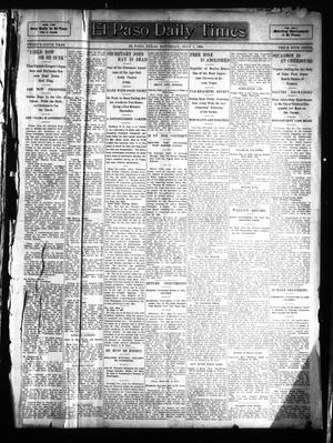 Primary view of object titled 'El Paso Daily Times (El Paso, Tex.), Vol. 25, Ed. 1 Saturday, July 1, 1905'.