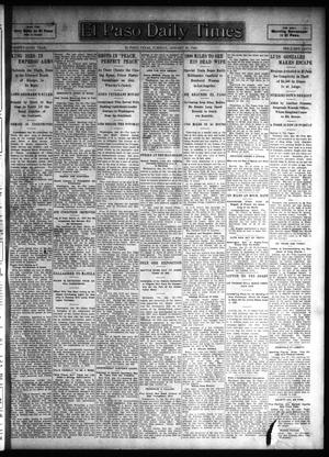 Primary view of El Paso Daily Times (El Paso, Tex.), Vol. 26, Ed. 1 Tuesday, January 30, 1906