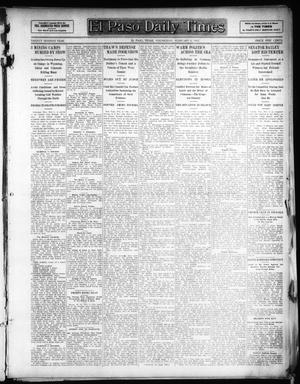 Primary view of object titled 'El Paso Daily Times (El Paso, Tex.), Vol. 26, Ed. 1 Wednesday, February 6, 1907'.