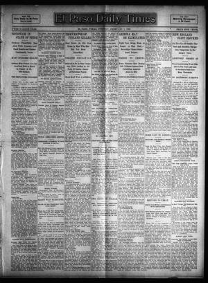 Primary view of object titled 'El Paso Daily Times (El Paso, Tex.), Vol. 25, Ed. 1 Tuesday, February 7, 1905'.