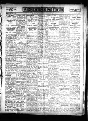 Primary view of object titled 'El Paso Daily Times (El Paso, Tex.), Vol. 25, Ed. 1 Friday, September 29, 1905'.