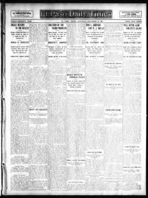 Primary view of object titled 'El Paso Daily Times (El Paso, Tex.), Vol. 27, Ed. 1 Saturday, November 16, 1907'.