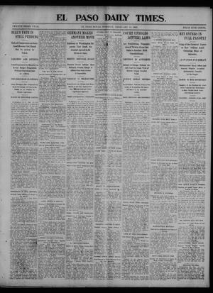 Primary view of object titled 'El Paso Daily Times. (El Paso, Tex.), Vol. 23, Ed. 1 Tuesday, February 24, 1903'.