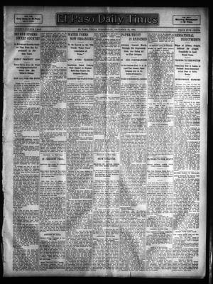 Primary view of object titled 'El Paso Daily Times (El Paso, Tex.), Vol. 24, Ed. 1 Wednesday, December 28, 1904'.