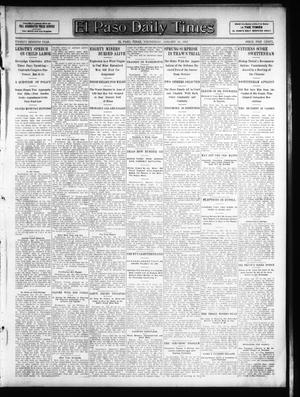 Primary view of object titled 'El Paso Daily Times (El Paso, Tex.), Vol. 26, Ed. 1 Wednesday, January 30, 1907'.
