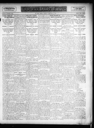 Primary view of object titled 'El Paso Daily Times (El Paso, Tex.), Vol. 26, Ed. 1 Tuesday, February 5, 1907'.