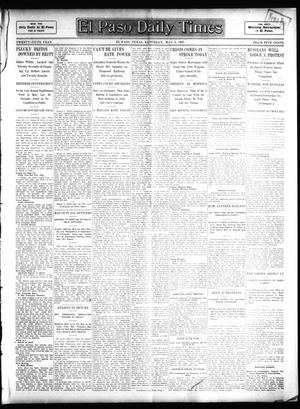Primary view of object titled 'El Paso Daily Times (El Paso, Tex.), Vol. 25, Ed. 1 Saturday, May 6, 1905'.
