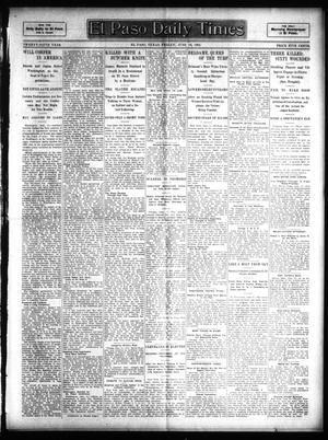 Primary view of object titled 'El Paso Daily Times (El Paso, Tex.), Vol. 25, Ed. 1 Friday, June 16, 1905'.