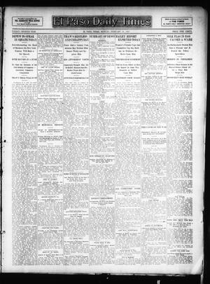 Primary view of object titled 'El Paso Daily Times (El Paso, Tex.), Vol. 26, Ed. 1 Monday, February 25, 1907'.