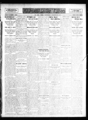 Primary view of object titled 'El Paso Daily Times (El Paso, Tex.), Vol. 27, Ed. 1 Wednesday, December 25, 1907'.