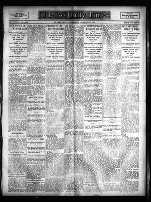 Primary view of object titled 'El Paso Daily Times (El Paso, Tex.), Vol. 24, Ed. 1 Wednesday, December 21, 1904'.