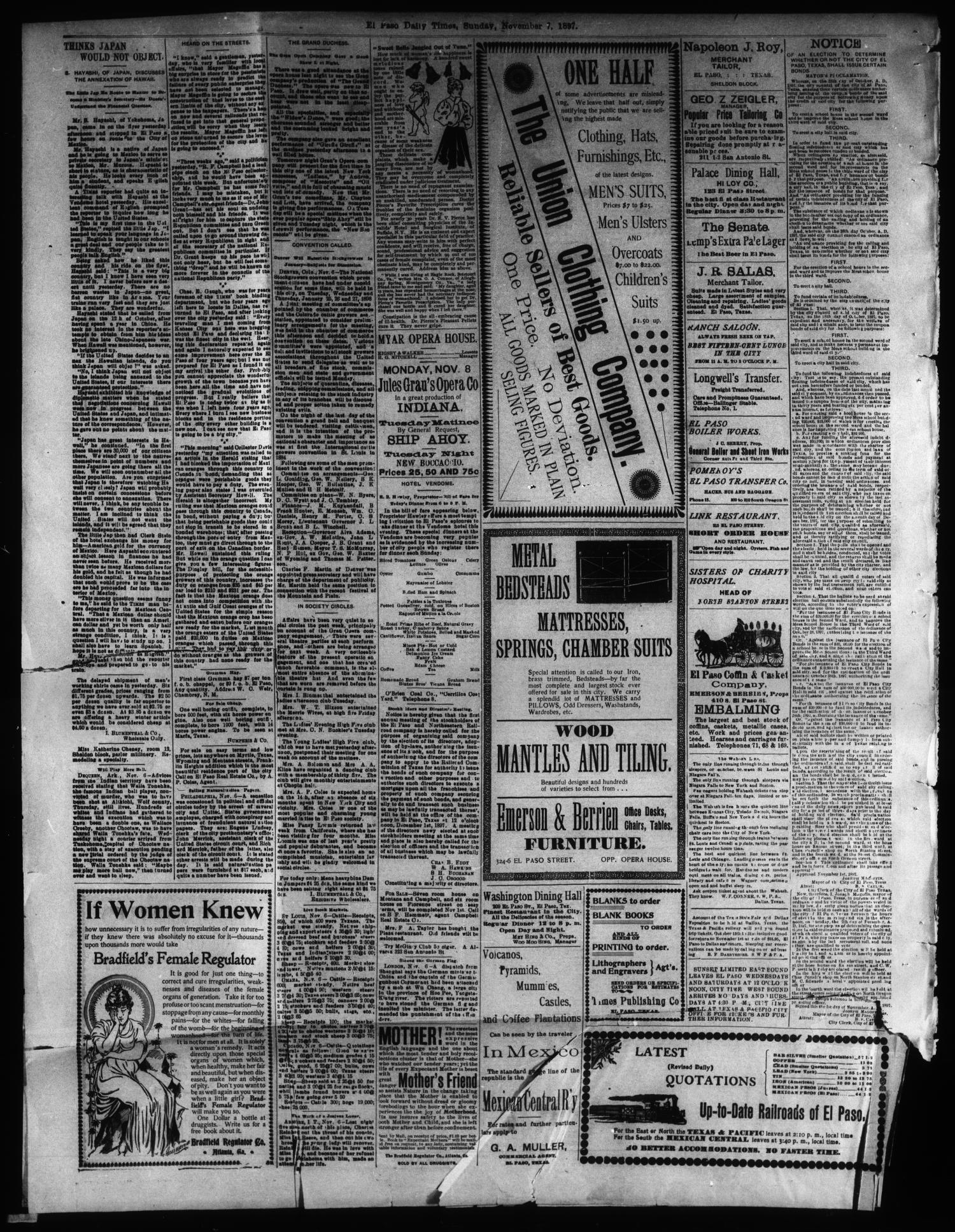 El Paso International Daily Times El Paso Tex Vol 17 No 265
