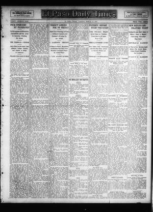 Primary view of object titled 'El Paso Daily Times (El Paso, Tex.), Vol. 26, Ed. 1 Tuesday, March 19, 1907'.
