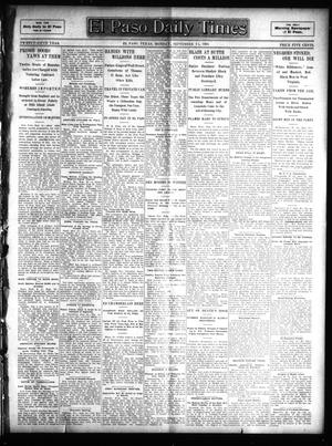 Primary view of object titled 'El Paso Daily Times (El Paso, Tex.), Vol. 25, Ed. 1 Monday, September 25, 1905'.