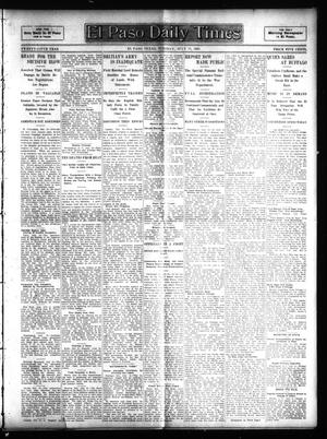 Primary view of object titled 'El Paso Daily Times (El Paso, Tex.), Vol. 25, Ed. 1 Tuesday, July 11, 1905'.