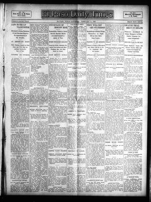 Primary view of object titled 'El Paso Daily Times (El Paso, Tex.), Vol. 25, Ed. 1 Saturday, February 11, 1905'.