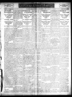 Primary view of object titled 'El Paso Daily Times (El Paso, Tex.), Vol. 24, Ed. 1 Thursday, September 15, 1904'.