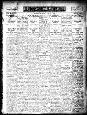 Primary view of object titled 'El Paso Daily Times (El Paso, Tex.), Vol. 26, Ed. 1 Monday, January 1, 1906'.
