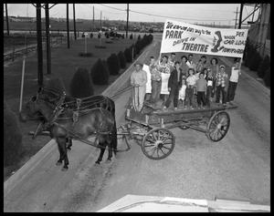 Primary view of object titled 'Wagon Ride To Park Drive-In #2'.