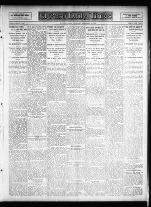 Primary view of object titled 'El Paso Daily Times (El Paso, Tex.), Vol. 26, Ed. 1 Thursday, November 29, 1906'.
