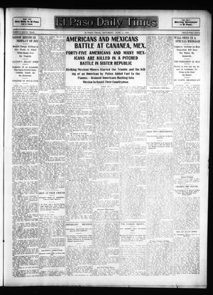 Primary view of El Paso Daily Times (El Paso, Tex.), Vol. 26, Ed. 1 Saturday, June 2, 1906