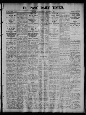 Primary view of object titled 'El Paso Daily Times. (El Paso, Tex.), Vol. 23, No. 119, Ed. 1 Thursday, September 10, 1903'.