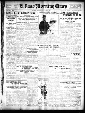 Primary view of object titled 'El Paso Morning Times (El Paso, Tex.), Vol. 30, Ed. 1 Sunday, June 12, 1910'.