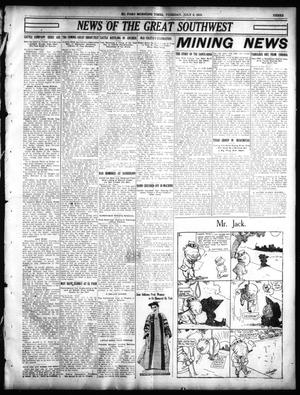 Primary view of object titled 'El Paso Morning Times (El Paso, Tex.), Vol. 30, Ed. 1 Tuesday, July 5, 1910'.