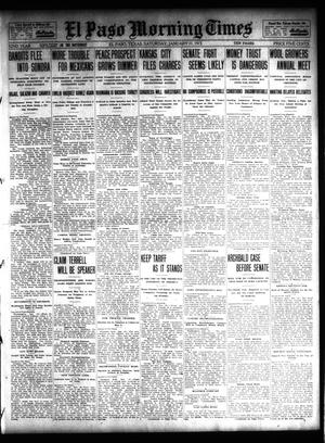 Primary view of object titled 'El Paso Morning Times (El Paso, Tex.), Vol. 32, Ed. 1 Saturday, January 11, 1913'.