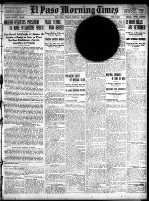Primary view of object titled 'El Paso Morning Times (El Paso, Tex.), Vol. 31, Ed. 1 Friday, May 5, 1911'.