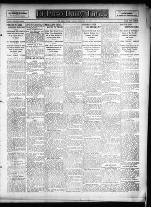 Primary view of object titled 'El Paso Daily Times (El Paso, Tex.), Vol. 26, Ed. 1 Friday, February 22, 1907'.