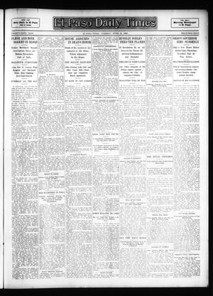 Primary view of object titled 'El Paso Daily Times (El Paso, Tex.), Vol. 26, Ed. 1 Tuesday, June 19, 1906'.