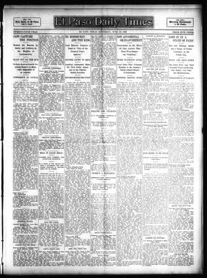 Primary view of object titled 'El Paso Daily Times (El Paso, Tex.), Vol. 25, Ed. 1 Saturday, June 24, 1905'.