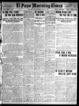 Primary view of El Paso Morning Times (El Paso, Tex.), Vol. 31, Ed. 1 Sunday, May 7, 1911