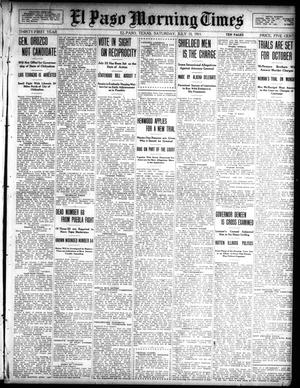 Primary view of object titled 'El Paso Morning Times (El Paso, Tex.), Vol. 31, Ed. 1 Saturday, July 15, 1911'.