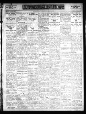 Primary view of object titled 'El Paso Daily Times (El Paso, Tex.), Vol. 25, Ed. 1 Friday, December 29, 1905'.