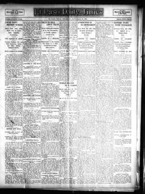 Primary view of object titled 'El Paso Daily Times (El Paso, Tex.), Vol. 25, Ed. 1 Thursday, September 28, 1905'.