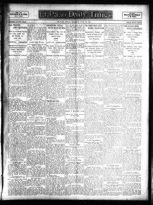 Primary view of object titled 'El Paso Daily Times (El Paso, Tex.), Vol. 25, Ed. 1 Monday, June 26, 1905'.