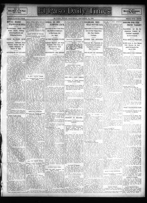Primary view of object titled 'El Paso Daily Times (El Paso, Tex.), Vol. 25, Ed. 1 Saturday, December 16, 1905'.