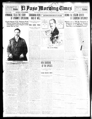 Primary view of object titled 'El Paso Morning Times (El Paso, Tex.), Vol. 32, Ed. 1 Sunday, November 10, 1912'.