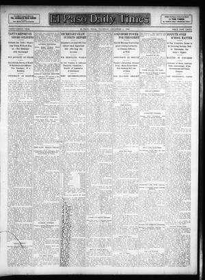 Primary view of object titled 'El Paso Daily Times (El Paso, Tex.), Vol. 26, Ed. 1 Thursday, December 6, 1906'.