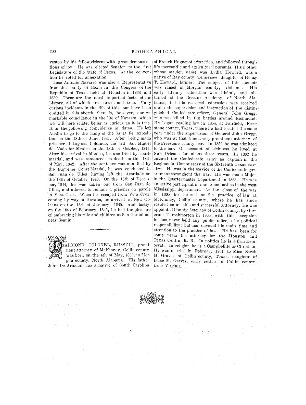 Biographical Encyclopedia of Texas                                                                                                      [Sequence #]: 368 of 372