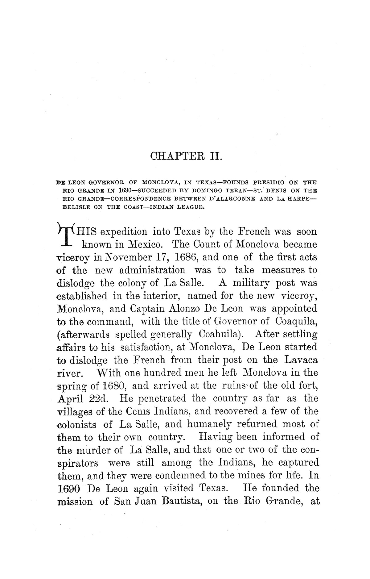 A pictorial history of Texas, from the earliest visits of European adventurers, to A.D. 1879. Embracing the periods of missions, colonization, the revolution the republic, and the state; also, a topographical description of the country ... together with its Indian tribes and their wars, and biographical sketches of hundreds of its leading historical characters. Also, a list of the countries, with historical and topical notes, and descriptions of the public institutions of the state.                                                                                                      [Sequence #]: 93 of 859
