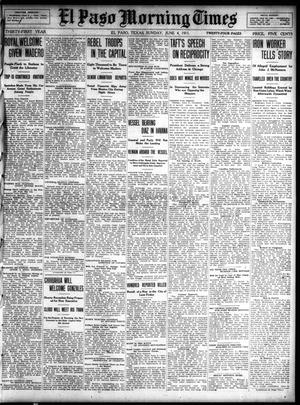 Primary view of object titled 'El Paso Morning Times (El Paso, Tex.), Vol. 31, Ed. 1 Sunday, June 4, 1911'.
