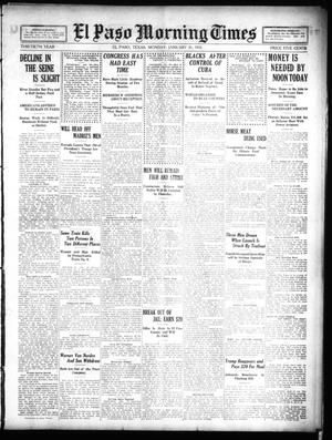 Primary view of object titled 'El Paso Morning Times (El Paso, Tex.), Vol. 30, Ed. 1 Monday, January 31, 1910'.