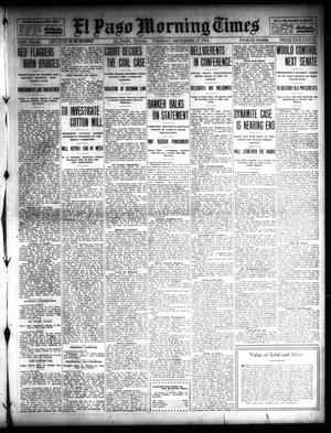 Primary view of object titled 'El Paso Morning Times (El Paso, Tex.), Vol. 32, Ed. 1 Tuesday, December 17, 1912'.