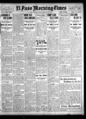 Primary view of object titled 'El Paso Morning Times (El Paso, Tex.), Vol. 31, Ed. 1 Friday, January 13, 1911'.