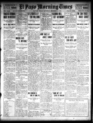 Primary view of object titled 'El Paso Morning Times (El Paso, Tex.), Vol. 32, Ed. 1 Saturday, December 21, 1912'.
