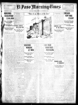 Primary view of object titled 'El Paso Morning Times (El Paso, Tex.), Vol. 30, Ed. 1 Monday, October 10, 1910'.