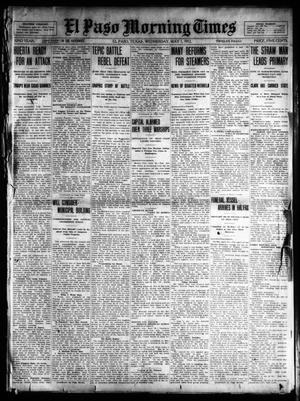 Primary view of object titled 'El Paso Morning Times (El Paso, Tex.), Vol. 32, Ed. 1 Wednesday, May 1, 1912'.